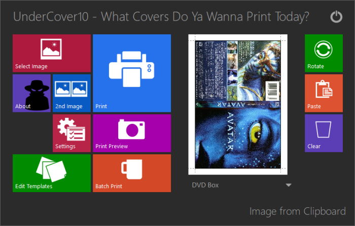 UnderCover10 - What cover do ya wanna print today?